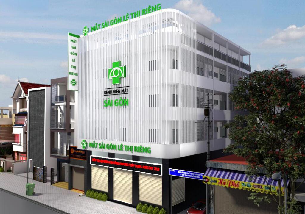 Bệnh viện Mắt Sài Gòn Lê Thị Riêng
