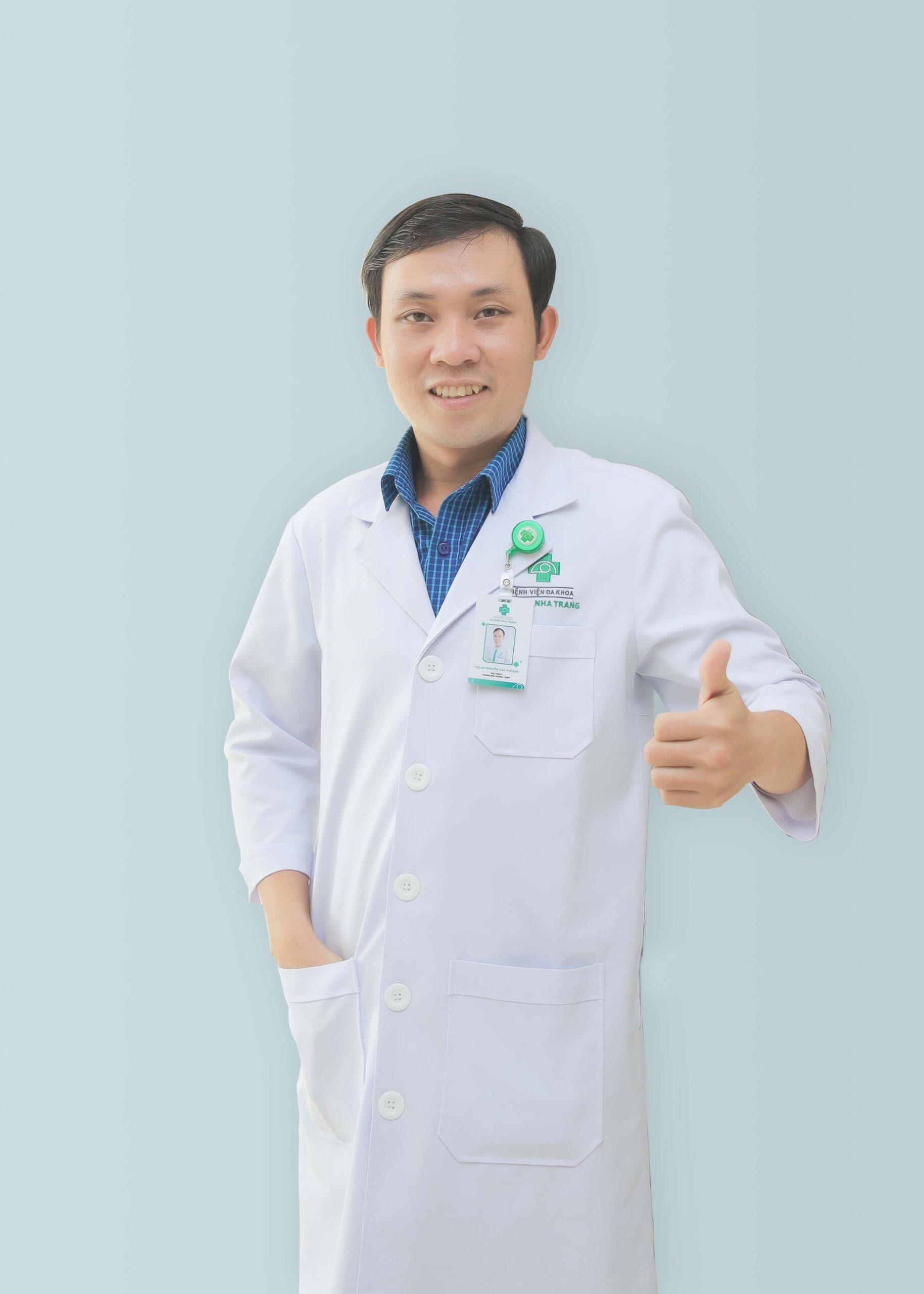 ThS Dinh dưỡng Nguyễn Văn Thế Bảo